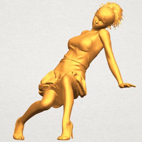 A02.png Télécharger fichier STL gratuit Fille nue G09 • Design pour impression 3D, GeorgesNikkei