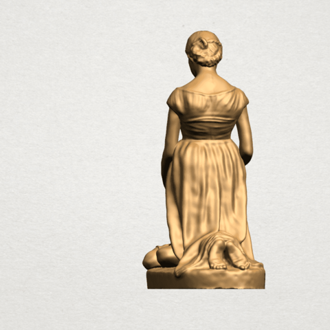 Mother-Child (ii) A03.png Download free STL file Mother and Child 02 • 3D printable design, GeorgesNikkei
