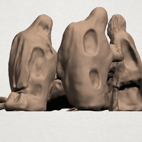 Villagers A05.png Download free STL file Villagers • 3D printing object, GeorgesNikkei