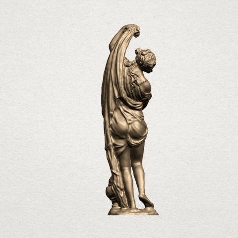 Naked Girl (vii) A05.png Download free STL file Naked Girl 07 • 3D printable design, GeorgesNikkei