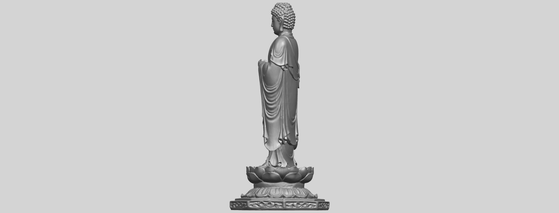 10_TDA0176_Gautama_Buddha_Standing_iiiA07.png Download free STL file Gautama Buddha Standing 03 • 3D printing design, GeorgesNikkei