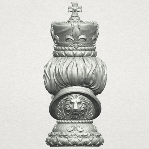 TDA0254 Chess-The King A07.png Download free STL file Chess-The King • 3D printer model, GeorgesNikkei