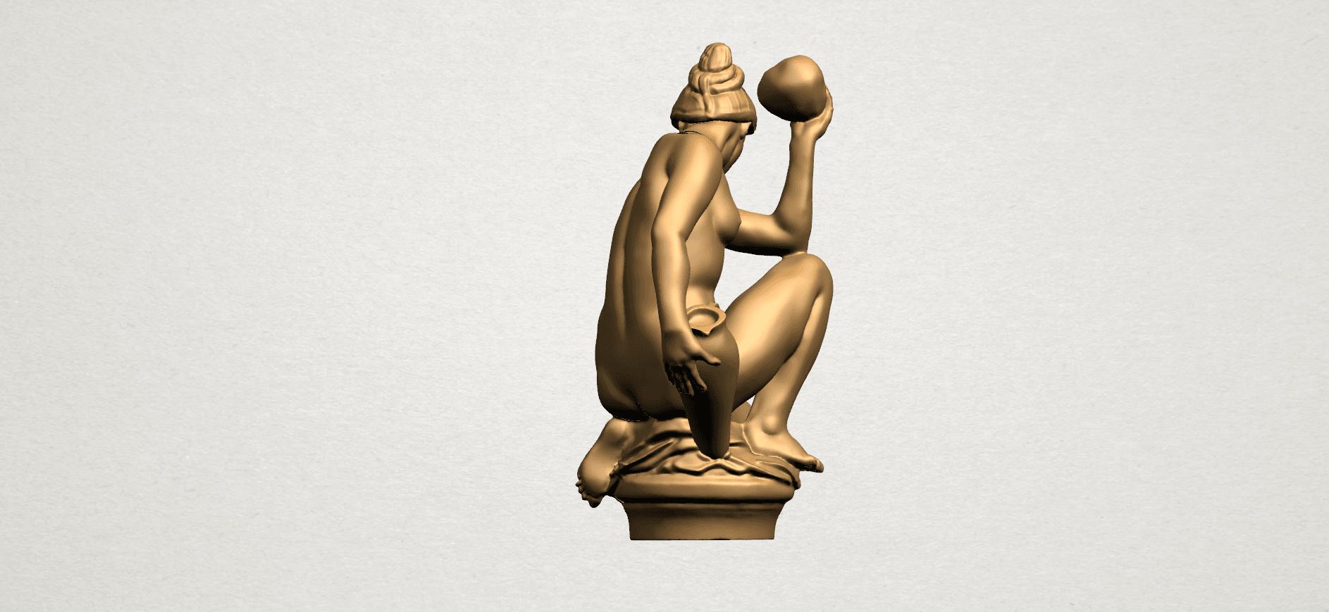Naked Girl - With Pot - A07.png Télécharger fichier STL gratuit Fille Nue - Avec Pot • Modèle à imprimer en 3D, GeorgesNikkei