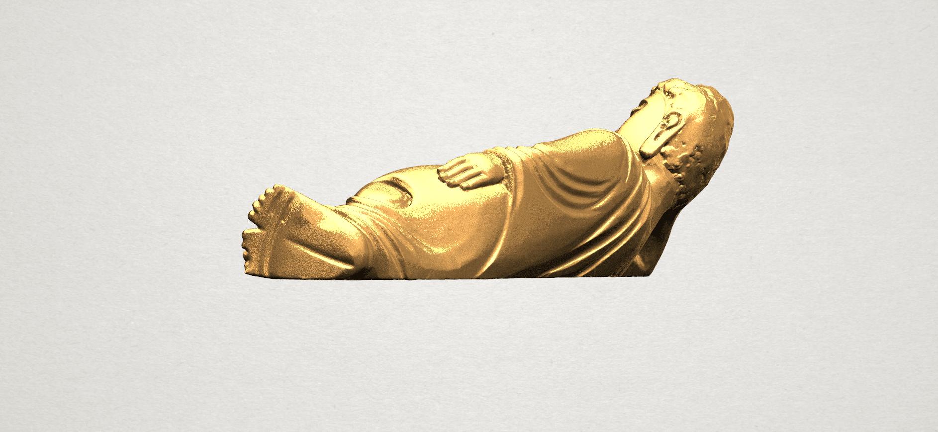 Sleeping Buddha (i) A04.png Download free STL file Sleeping Buddha 01 • 3D printable design, GeorgesNikkei