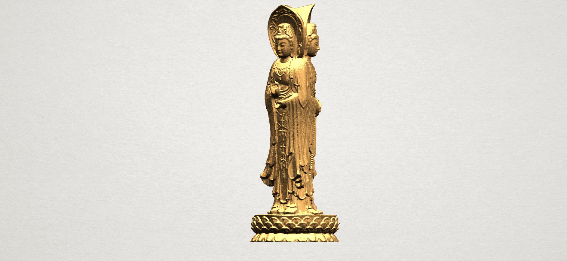 Avalokitesvara Buddha (with Lotus Leave) (i) A05.png Download free STL file Avalokitesvara Buddha (with Lotus Leave) 01 • 3D printable model, GeorgesNikkei