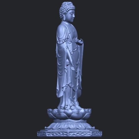 10_TDA0176_Gautama_Buddha_Standing_iiiB02.png Download free STL file Gautama Buddha Standing 03 • 3D printing design, GeorgesNikkei