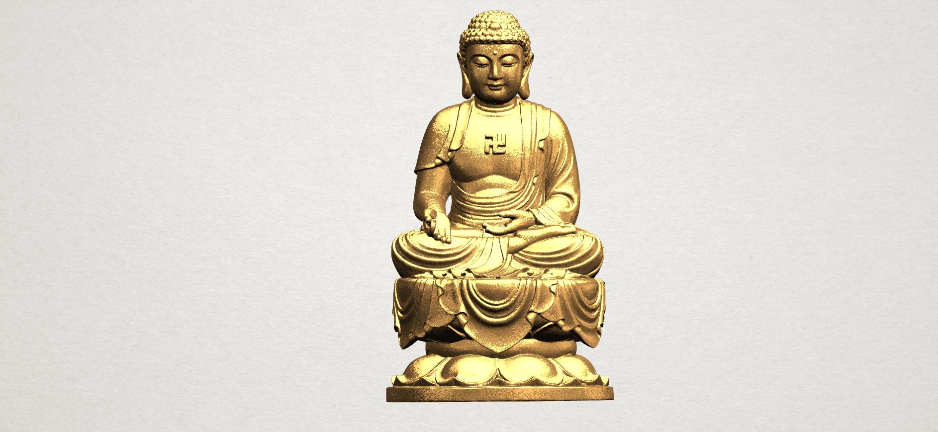 Gautama Buddha (ii) A01.png Download free STL file Gautama Buddha 02 • 3D print template, GeorgesNikkei