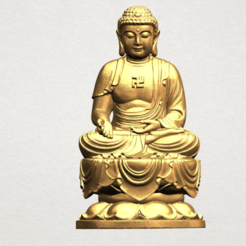 Free 3D printer model Gautama Buddha 02, GeorgesNikkei