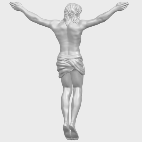 21_TDA0230_Jesus_iA07.png Download free STL file Jesus 01 - top • Object to 3D print, GeorgesNikkei