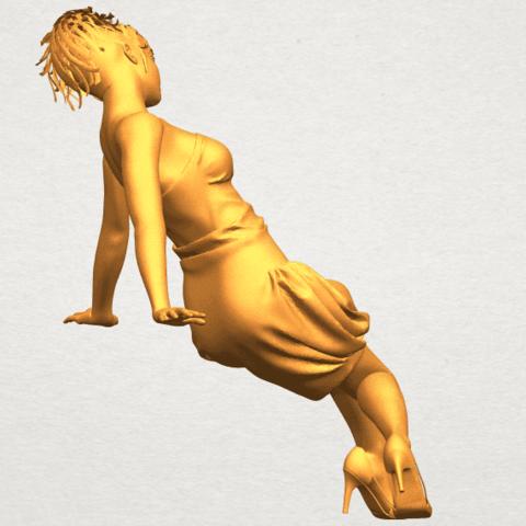 A08.png Télécharger fichier STL gratuit Fille nue G09 • Design pour impression 3D, GeorgesNikkei