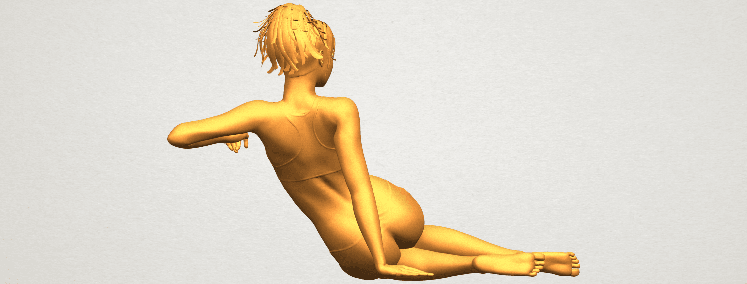 A07.png Download free STL file Naked Girl F03 • Template to 3D print, GeorgesNikkei