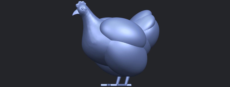 17_TDA0484_HenB03.png Télécharger fichier STL gratuit Poule • Design pour imprimante 3D, GeorgesNikkei