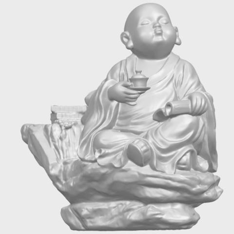 17_TDA0558_Little_Monk_Drink_TeaA02.png Télécharger fichier STL gratuit Boire du thé Little Monk Drink Tea • Design à imprimer en 3D, GeorgesNikkei