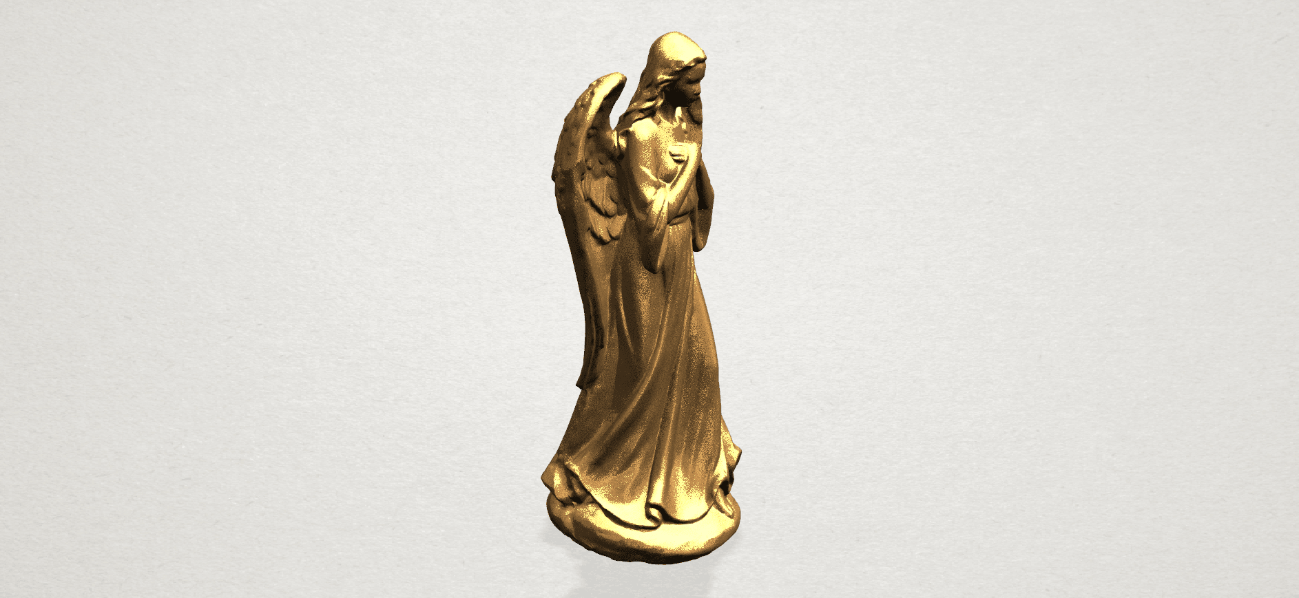 Angel A04.png Download free STL file Angel 01 • 3D printer object, GeorgesNikkei
