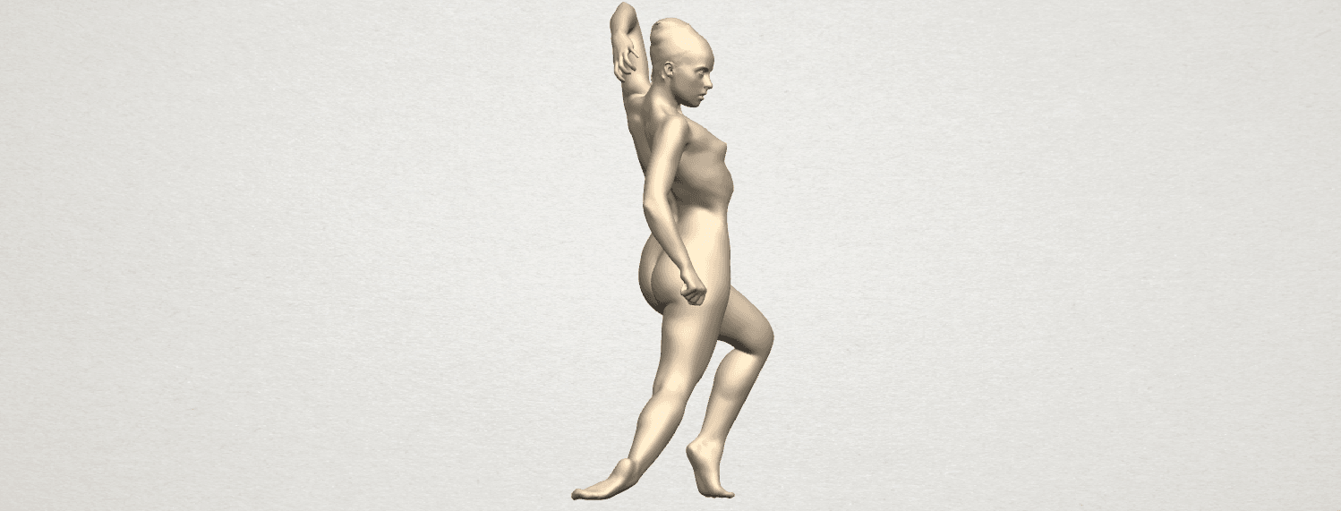 TDA0279 Naked Girl A06 07.png Download free STL file Naked Girl A06 • 3D printing template, GeorgesNikkei