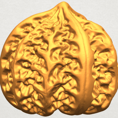 A05.png Download free STL file Walnut • 3D print object, GeorgesNikkei
