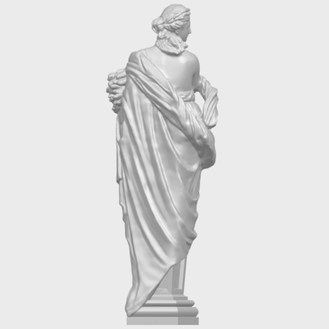 12_TDA0260_Sculpture_AutumnA07.png Download free STL file Sculpture - Autumn • 3D print template, GeorgesNikkei