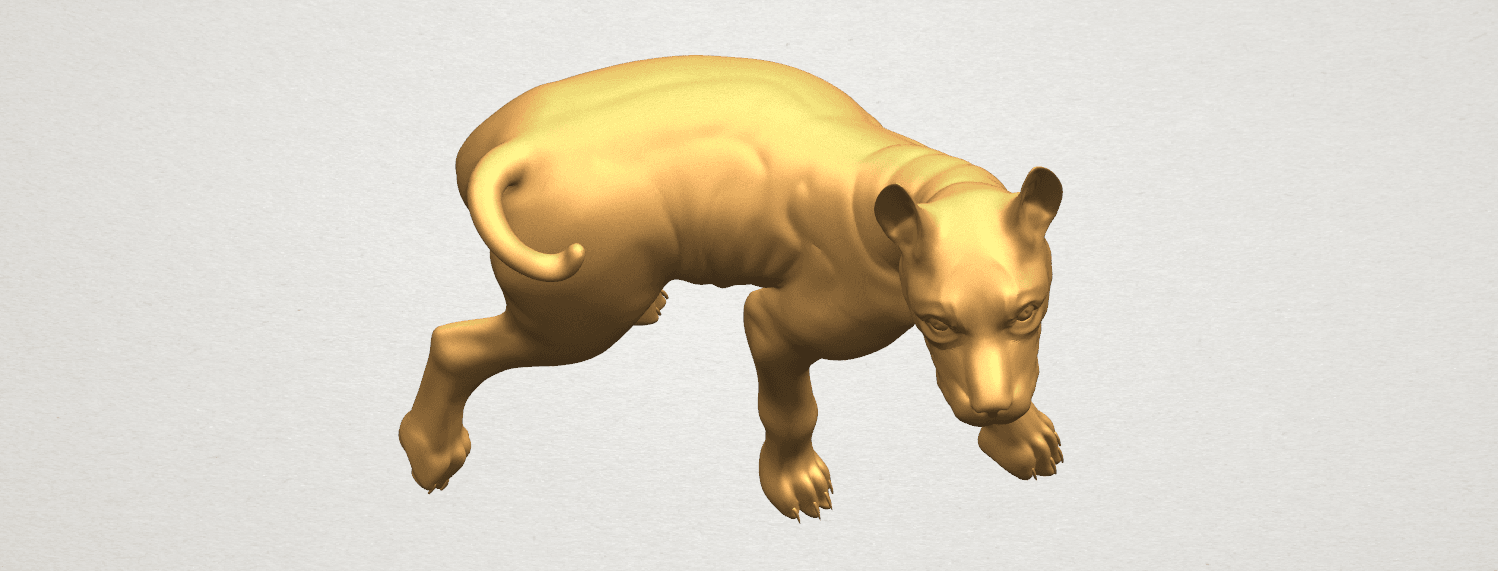 TDA0523 Bull Dog 04 A10.png Download free STL file Bull Dog 04 • 3D print design, GeorgesNikkei