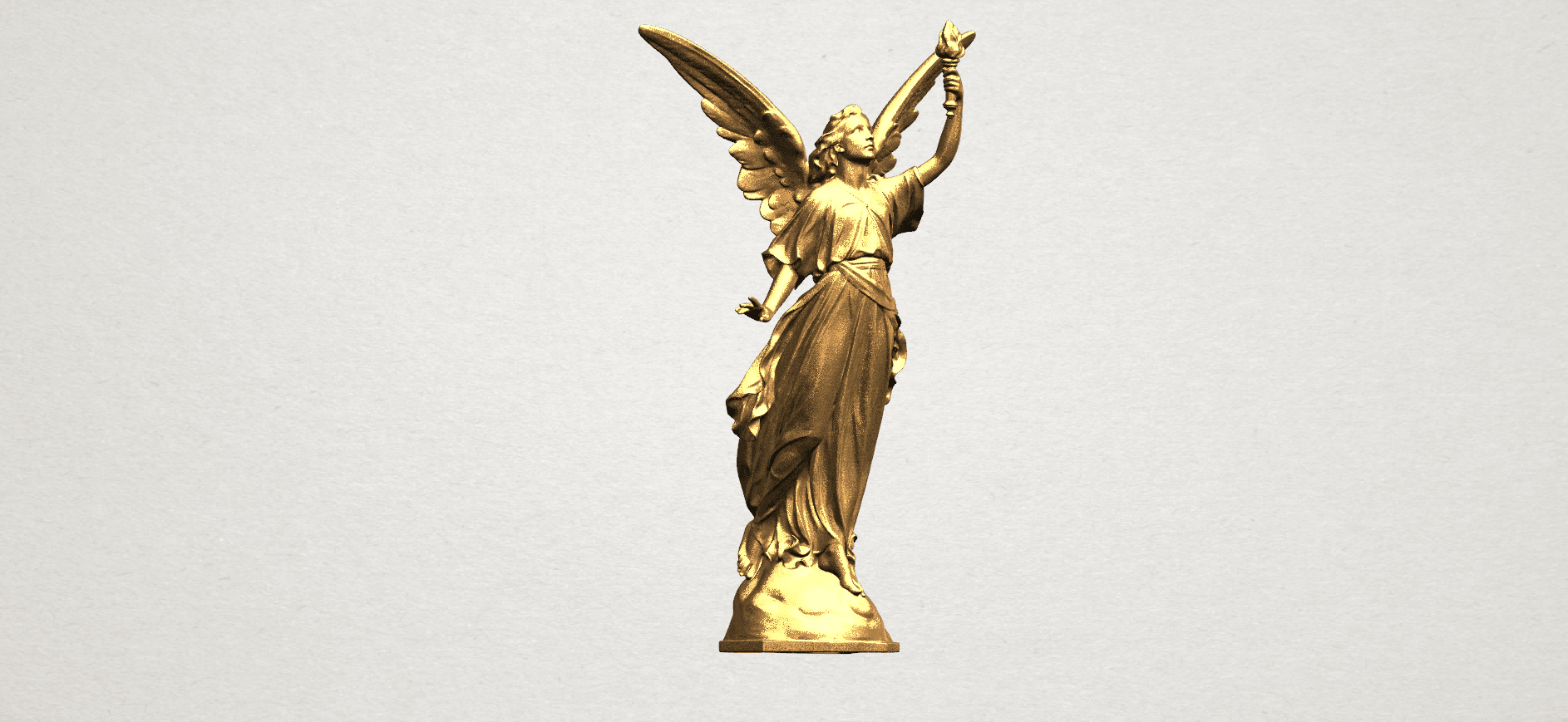Statue 01 - A07.png Download free STL file Statue 01 • Object to 3D print, GeorgesNikkei