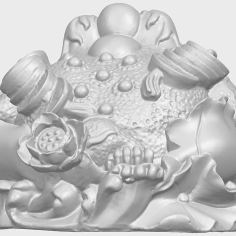 21_TDA0336_The_Golden_ToadA04.png Download free STL file The Golden Toad • 3D printer design, GeorgesNikkei
