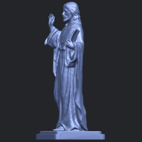 19_TDA0237_Jesus_vB03.png Download free STL file Jesus 05 • 3D print object, GeorgesNikkei