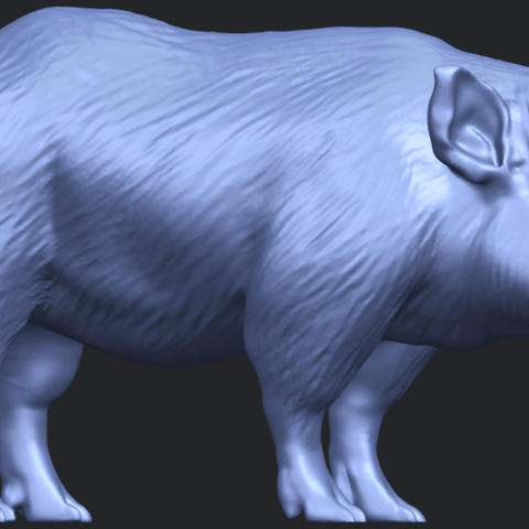 13_TDA0320_Pig_ii_B07.png Download free STL file Pig 02 • 3D printable object, GeorgesNikkei