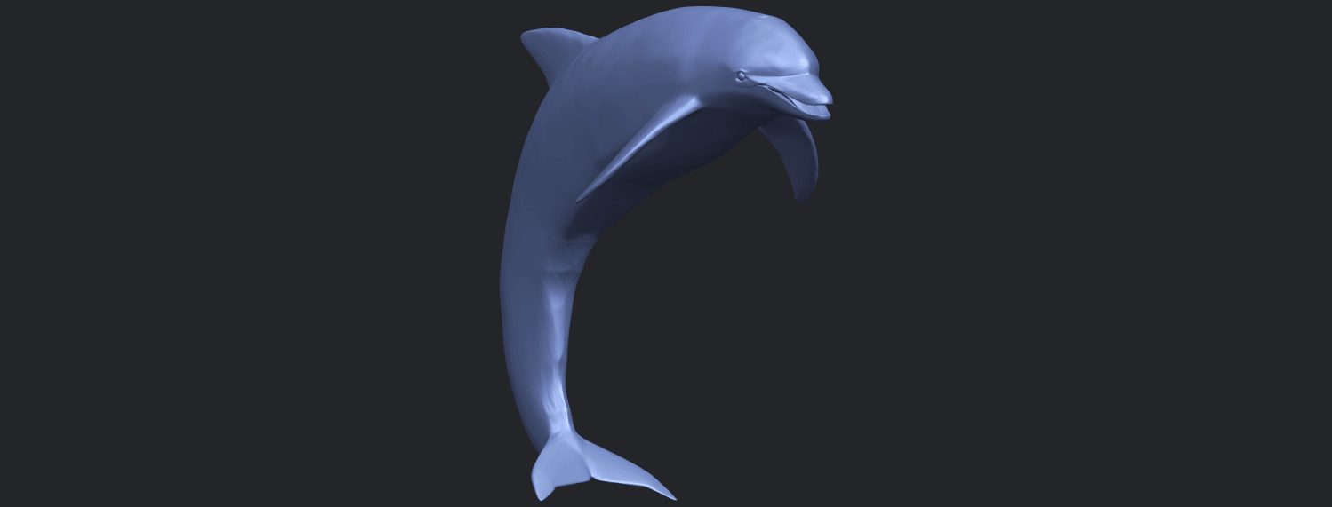27_TDA0613_Dolphin_03B08.png Download free STL file Dolphin 03 • Design to 3D print, GeorgesNikkei
