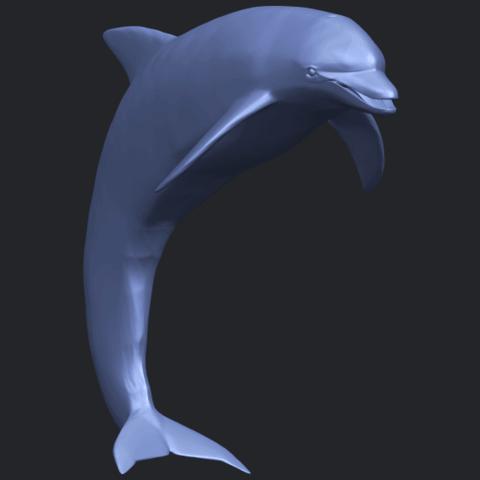 27_TDA0613_Dolphin_03B08.png Télécharger fichier STL gratuit Dauphin 03 • Objet pour impression 3D, GeorgesNikkei