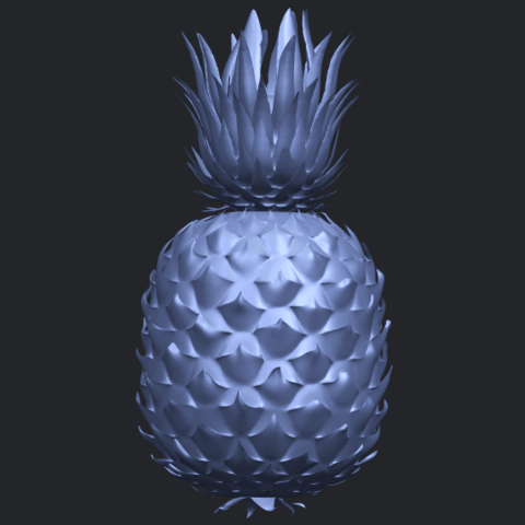 15_TDA0552_PineappleB06.png Download free STL file Pineapple • 3D printer design, GeorgesNikkei