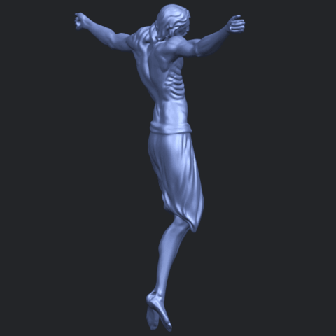 17_TDA0233_Jesus_iv_88mmB08.png Download free STL file Jesus 04 • Template to 3D print, GeorgesNikkei