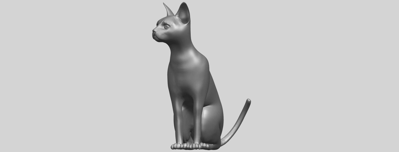 02_TDA0576_Cat_01A02.png Télécharger fichier STL gratuit Chat 01 • Modèle pour imprimante 3D, GeorgesNikkei