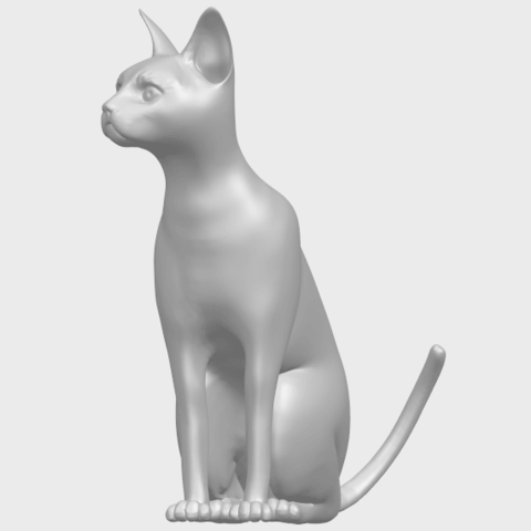 02_TDA0576_Cat_01A02.png Download free STL file Cat 01 • Design to 3D print, GeorgesNikkei