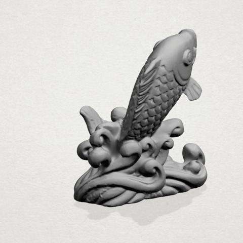 Fish -A04.png Télécharger fichier STL gratuit Poisson 01 • Objet pour impression 3D, GeorgesNikkei