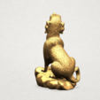 Free stl file Chinese Horoscope 11 Dog, GeorgesNikkei