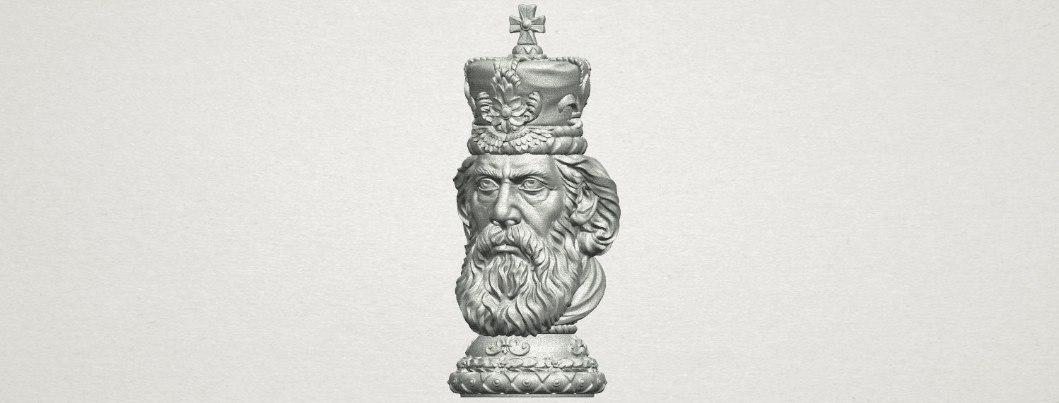 TDA0254 Chess-The King A02.png Download free STL file Chess-The King • 3D printer model, GeorgesNikkei