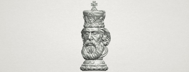 TDA0254 Chess-The King A02.png Télécharger fichier STL gratuit Chess-Le roi des échecs • Objet pour impression 3D, GeorgesNikkei