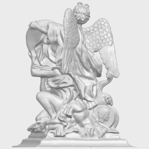 17_TDA0206_Angel_viA06.png Télécharger fichier STL gratuit Ange 06 • Modèle pour imprimante 3D, GeorgesNikkei