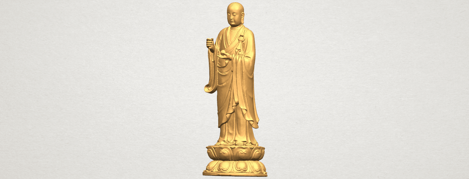 TDA0495 The Medicine Buddhav A02.png Download free STL file The Medicine Buddha • 3D print object, GeorgesNikkei