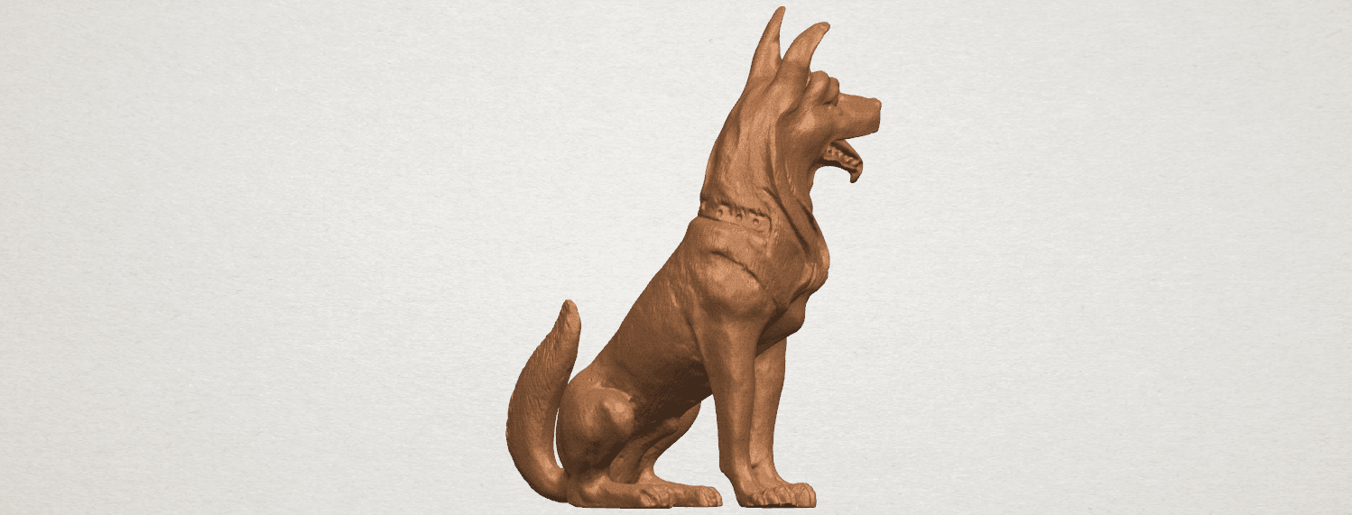 TDA0307 Dog - Wolfhound A07.png Download free STL file Dog - Wolfhound • 3D printer model, GeorgesNikkei
