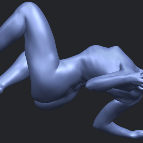 07_TDA0282_Naked_Girl_A09B04.png Download free STL file Naked Girl A09 • 3D print object, GeorgesNikkei