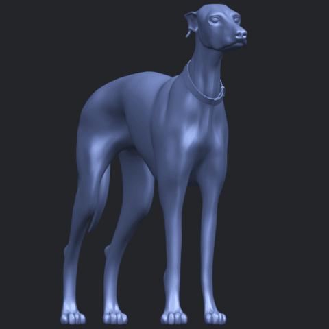 20_TDA0531_Skinny_Dog_03B03.png Download free STL file Skinny Dog 03 • 3D printer model, GeorgesNikkei