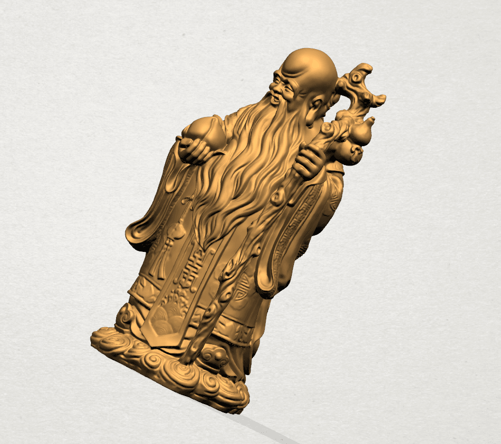 Sao (Fook Look Sao) 80mm - A08.png Download free STL file Sao (Fook Look Sao) • 3D printable model, GeorgesNikkei