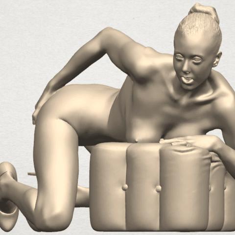 TDA0284 Naked Girl B01 02.png Télécharger fichier STL gratuit Fille nue B01 • Design à imprimer en 3D, GeorgesNikkei