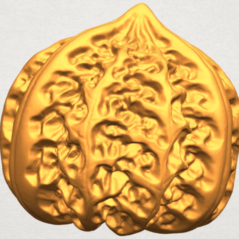 A04.png Download free STL file Walnut • 3D print object, GeorgesNikkei