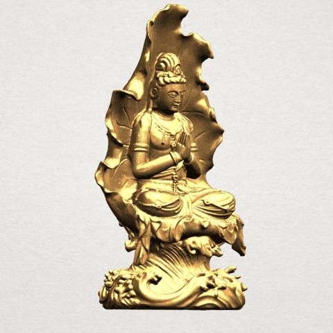 Avalokitesvara Buddha (with Lotus Leave) (ii) A09.png Download free STL file Avalokitesvara Buddha (with Lotus Leave) 02 • Model to 3D print, GeorgesNikkei