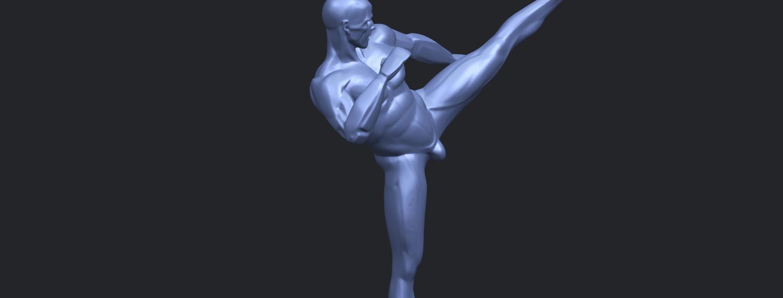 06_TDA0547_Man_KickingA10.png Télécharger fichier STL gratuit Man Kicking • Objet pour impression 3D, GeorgesNikkei