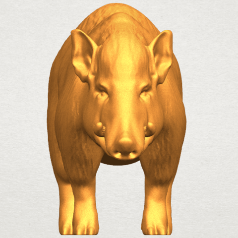 TDA0320 Pig (ii) A06.png Download free STL file Pig 02 • 3D printable object, GeorgesNikkei