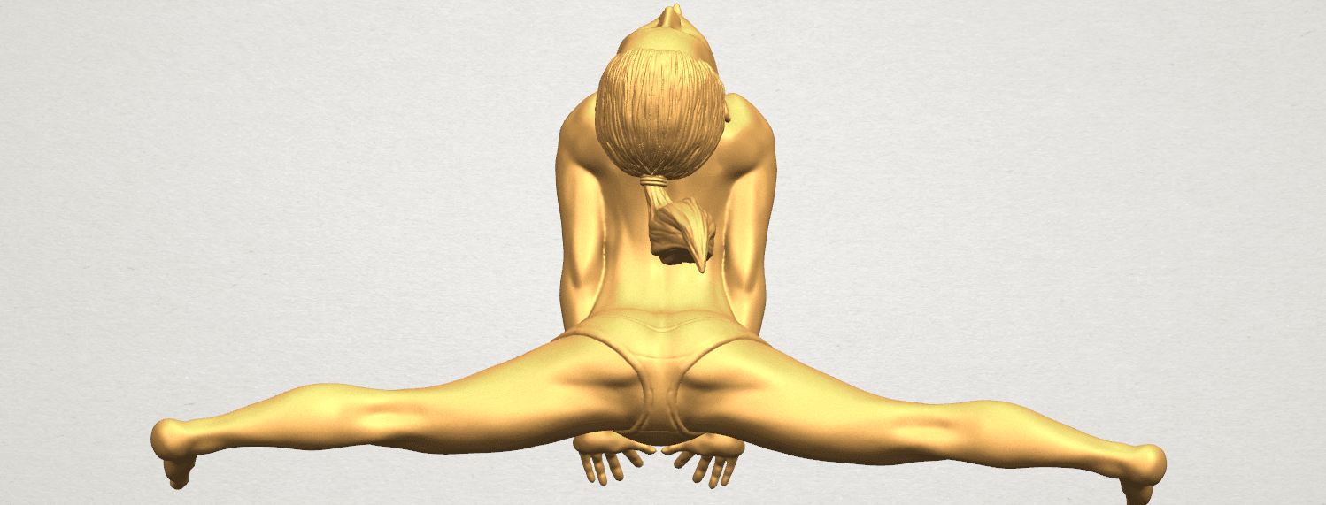 TDA0562 Naked Girl 20 open leg a08.png Download free STL file Naked Girl 20 open leg • 3D printable template, GeorgesNikkei