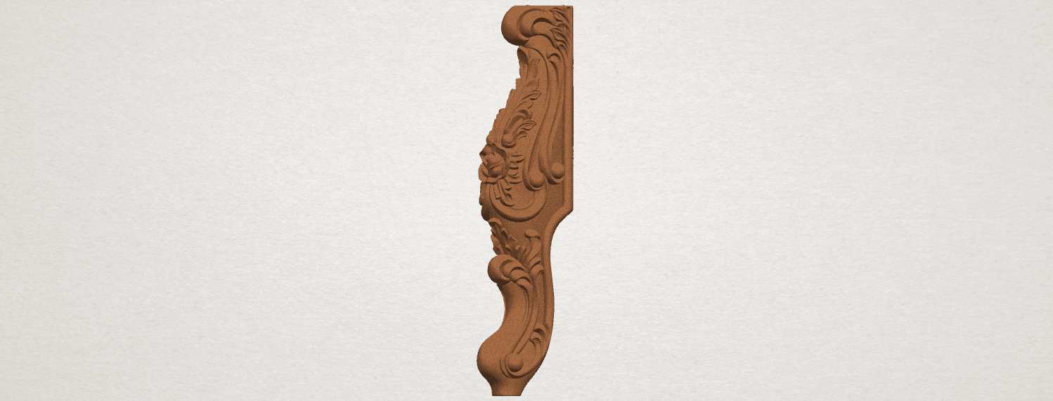 TDA0456 Table Leg (v) A02.png Download free STL file Table Leg 05 • 3D printable template, GeorgesNikkei
