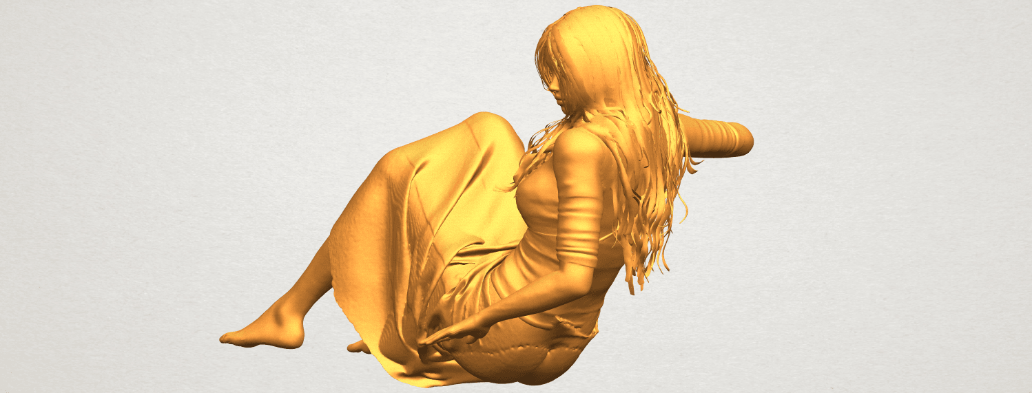 A03.png Download free STL file Naked Girl I03 • 3D printing object, GeorgesNikkei